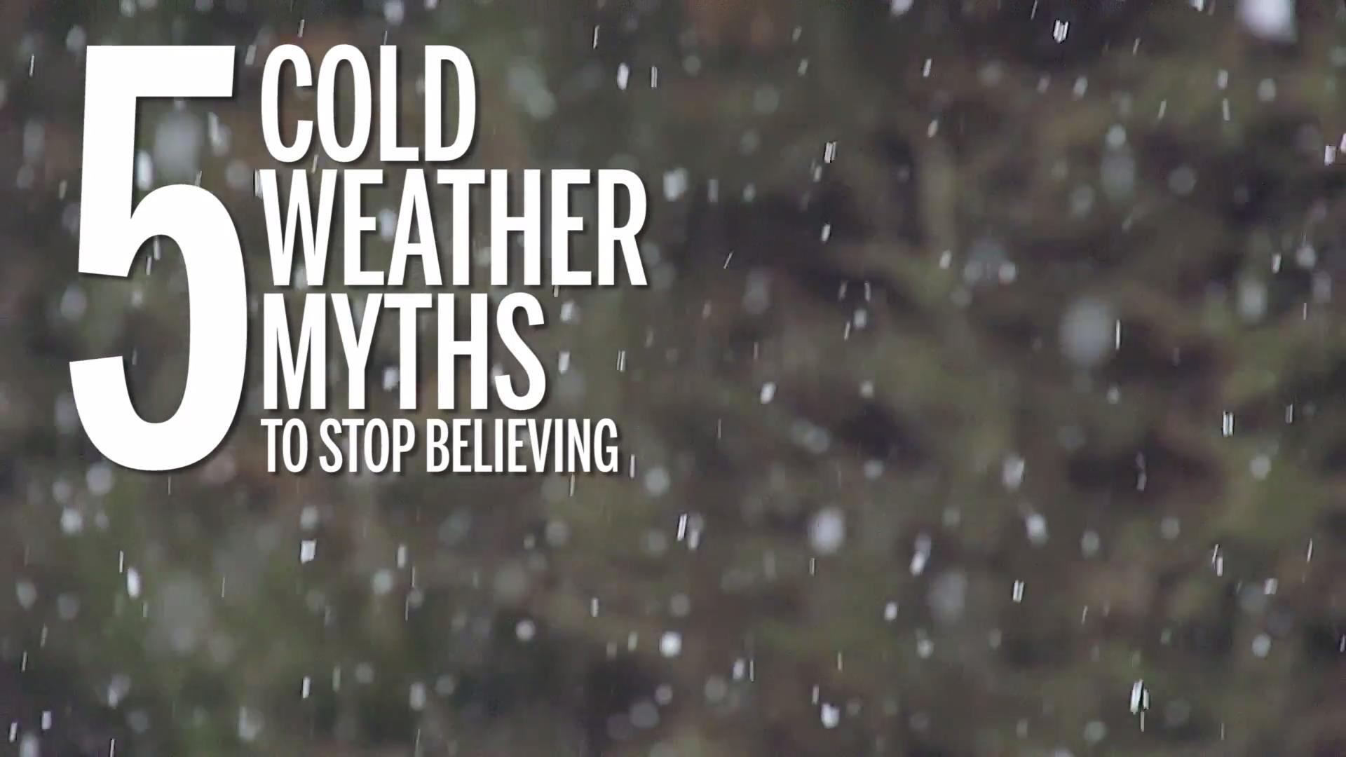 Cold-weather misconceptions