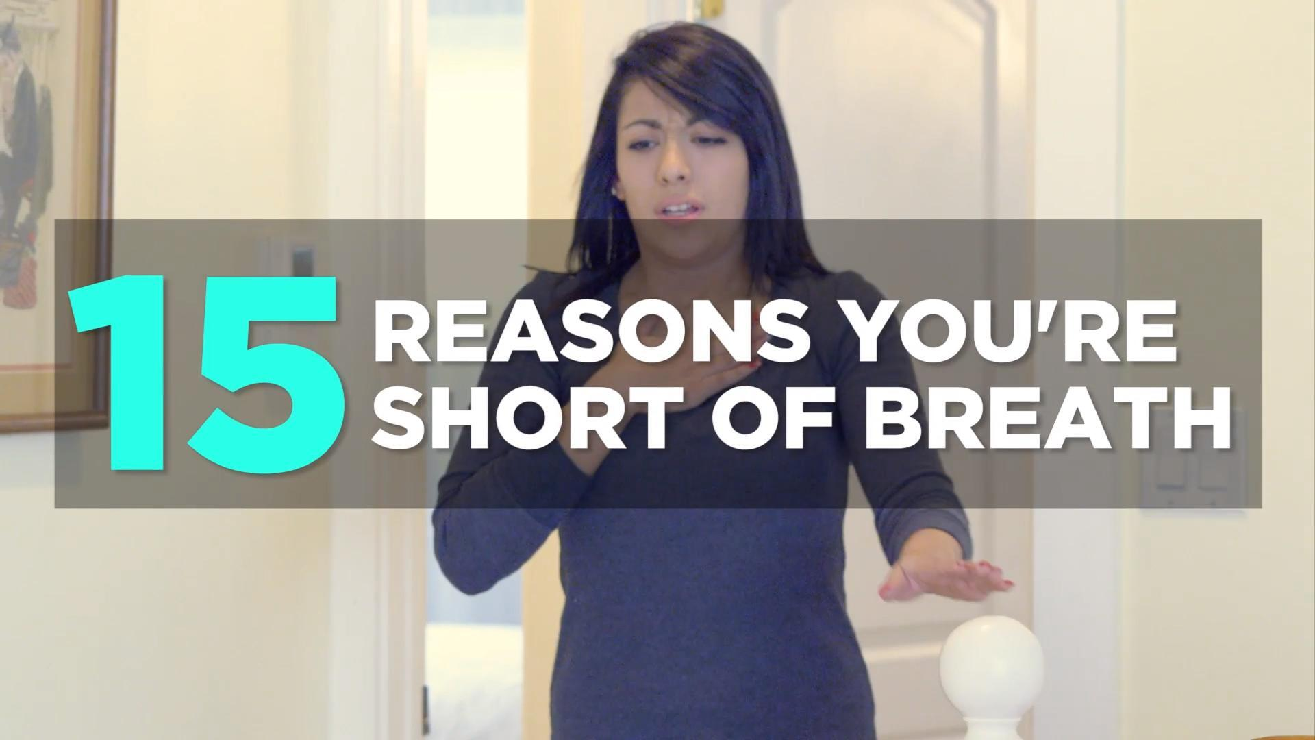 What causes shortness of breath?