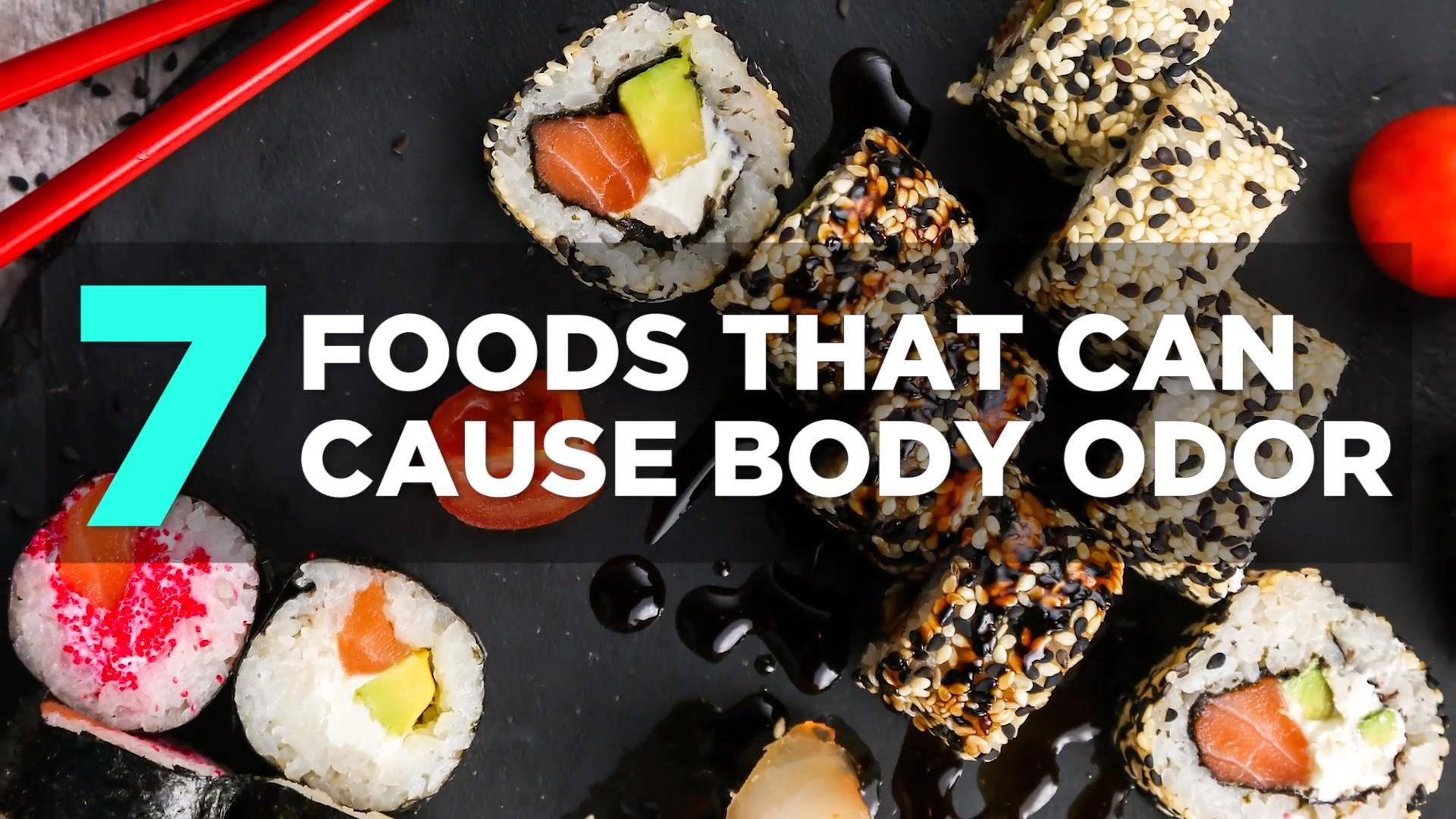 Foods that cause body odor