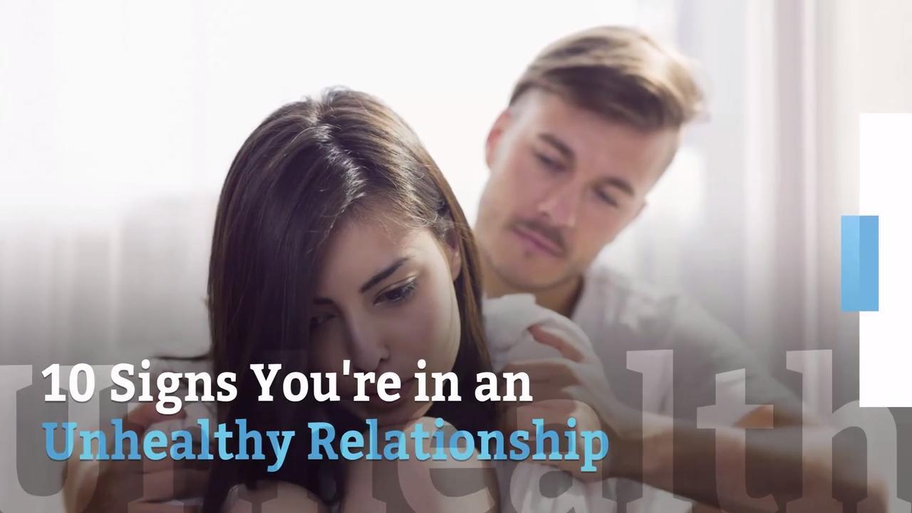 You're in a toxic relationship