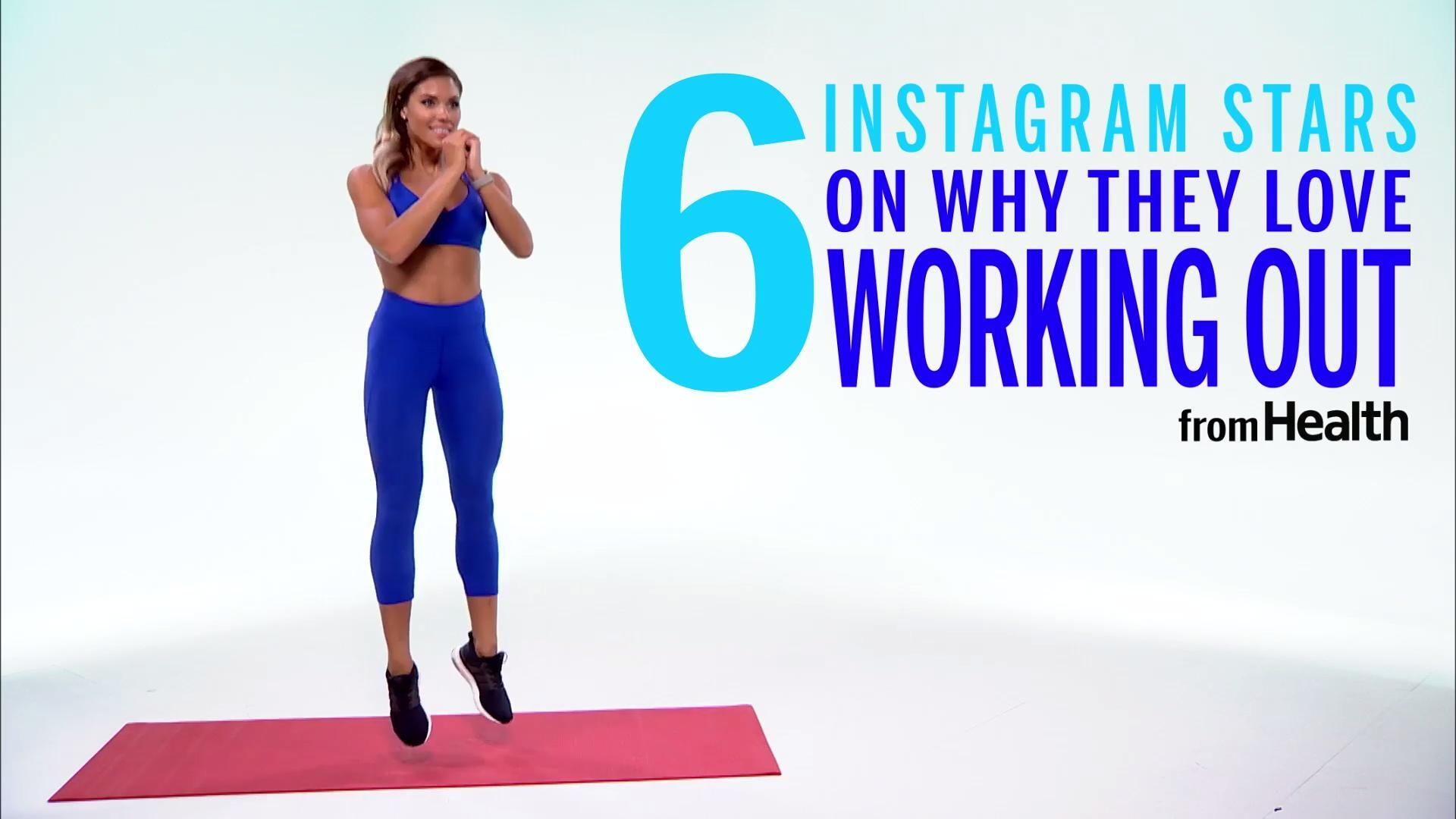 Why they love working out...
