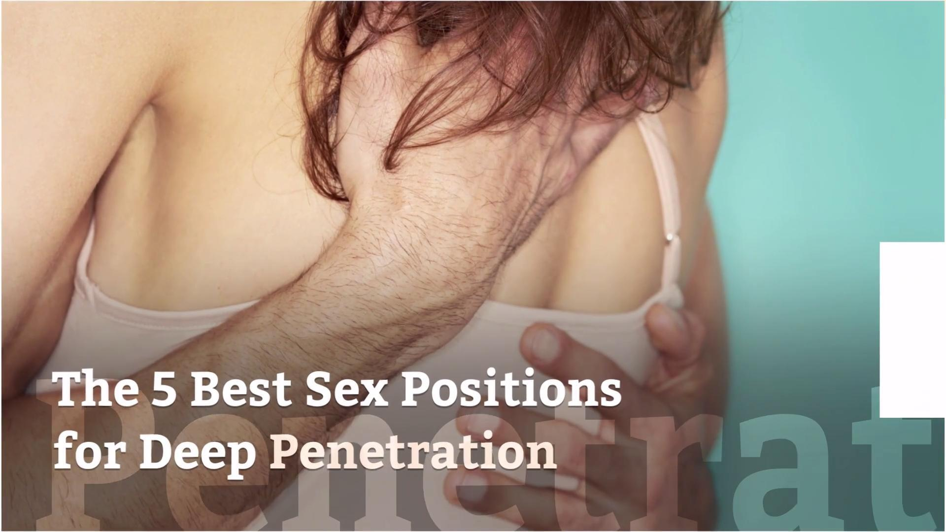 Penetration easy positions sex for 12 Best