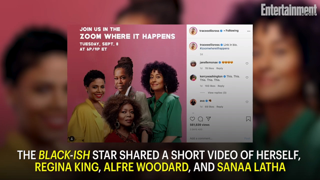 Tracee Ellis Ross, Regina King, and more will do their own <em>Golden Girls</em> rendition for Zoom special