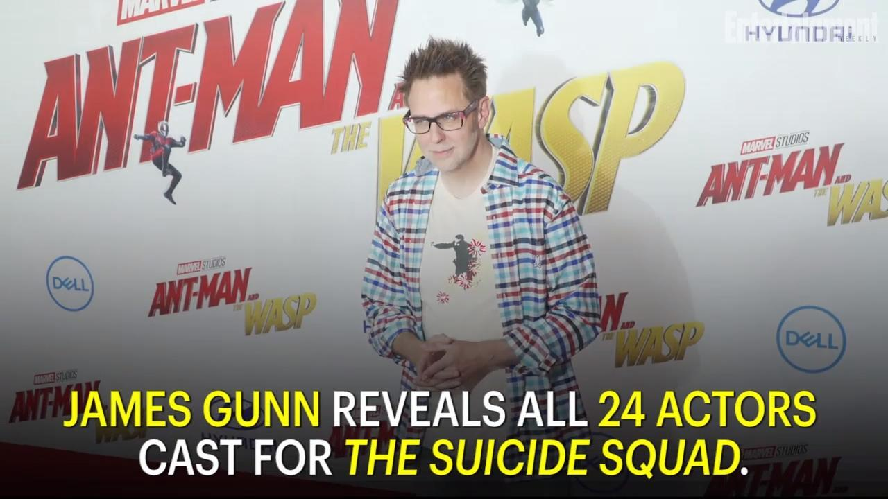 James Gunn calls <em>The Suicide Squad</em> a 'war-caper movie with s---ty supervillains'