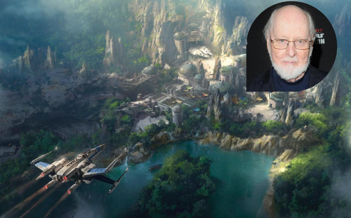 Exclusive: Listen to John Williams' new score for Disney's <em>Star Wars</em> theme parks