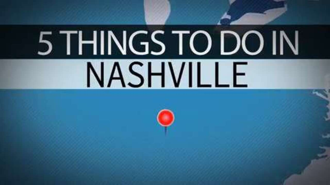 VIDEO: Five Things to Do in Nashville