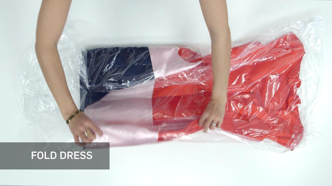 VIDEO: How to Pack A Cocktail Dress