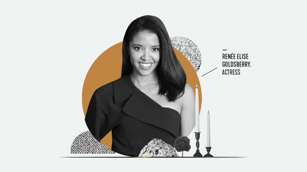 Renée Elise Goldsberry Shares the Secret to Dreaming Big and Rapping Fast