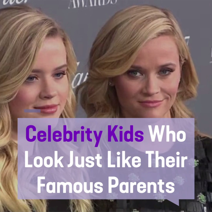 Celebrity Kids Who Are Clones of Their Parents