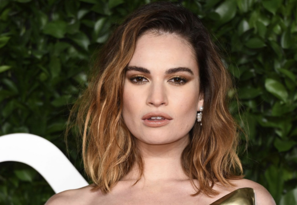 Lily James Looks Identical to Pamela Anderson in Latest Photo