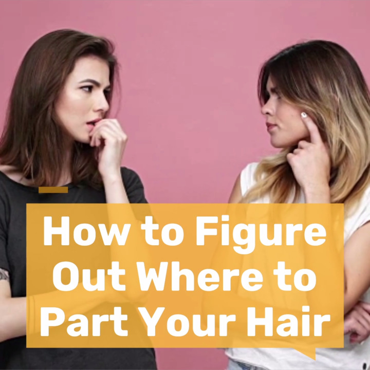 Here's How to Figure Out Where to Part Your Hair