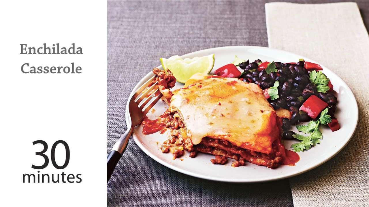 How to Make Enchilada Casserole
