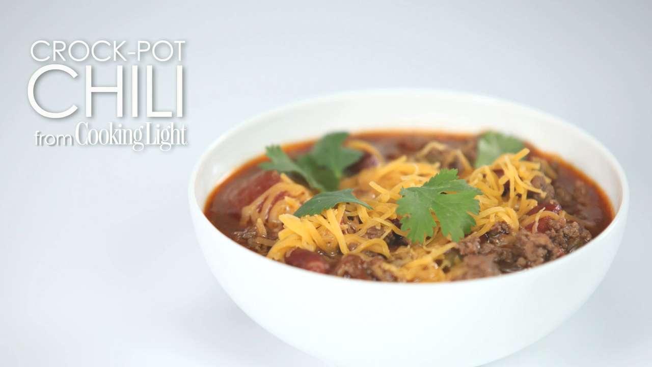 How to Make Crock-Pot Chili