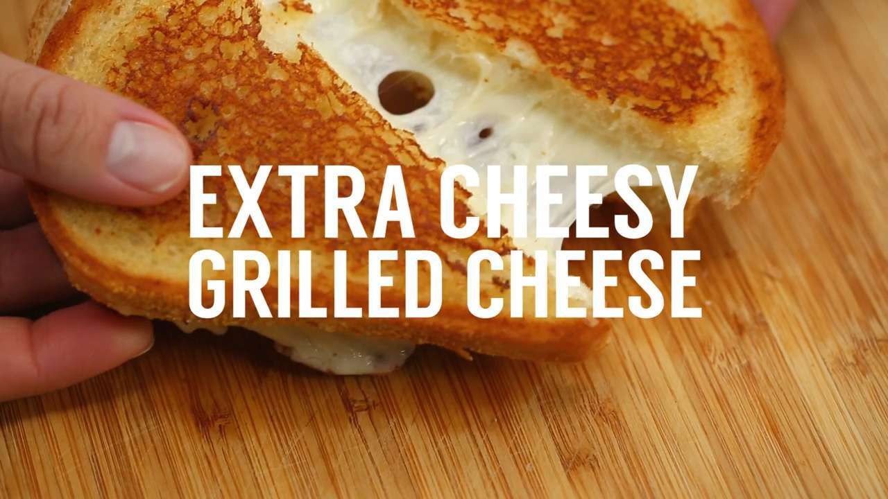 Sandwich School: Extra Cheesy Grilled Cheese