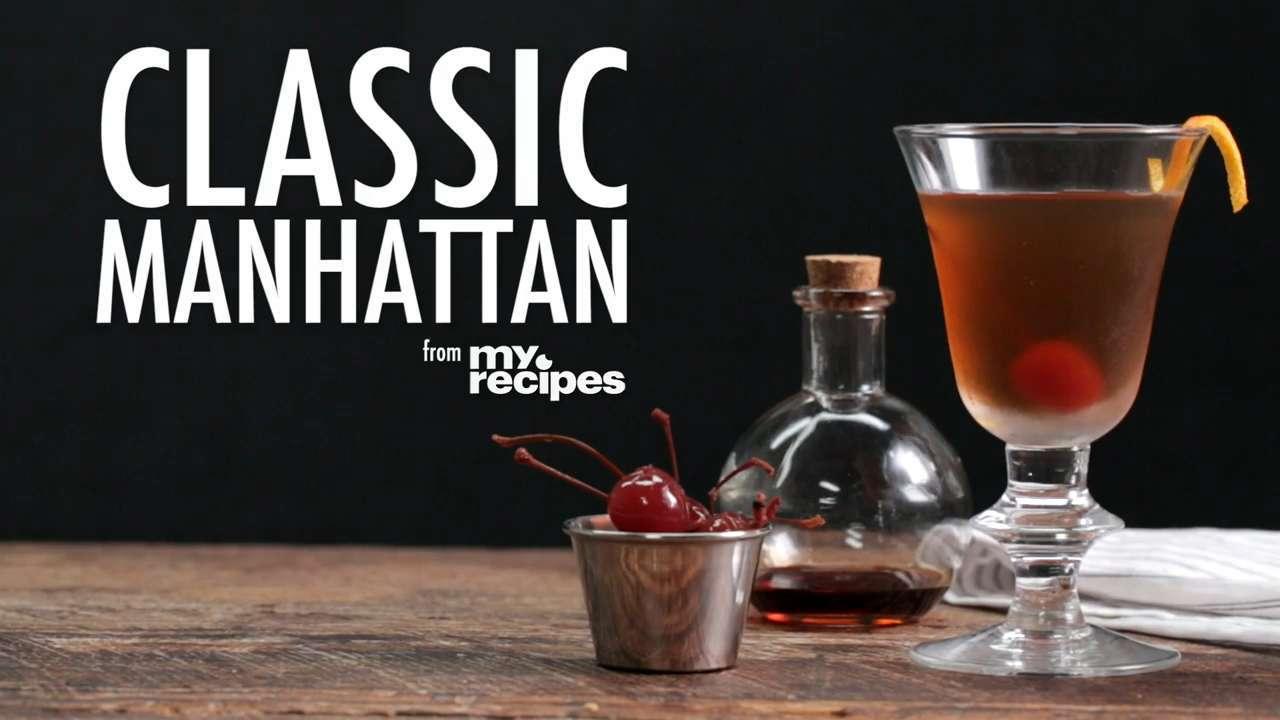 How to Make a Classic Manhattan