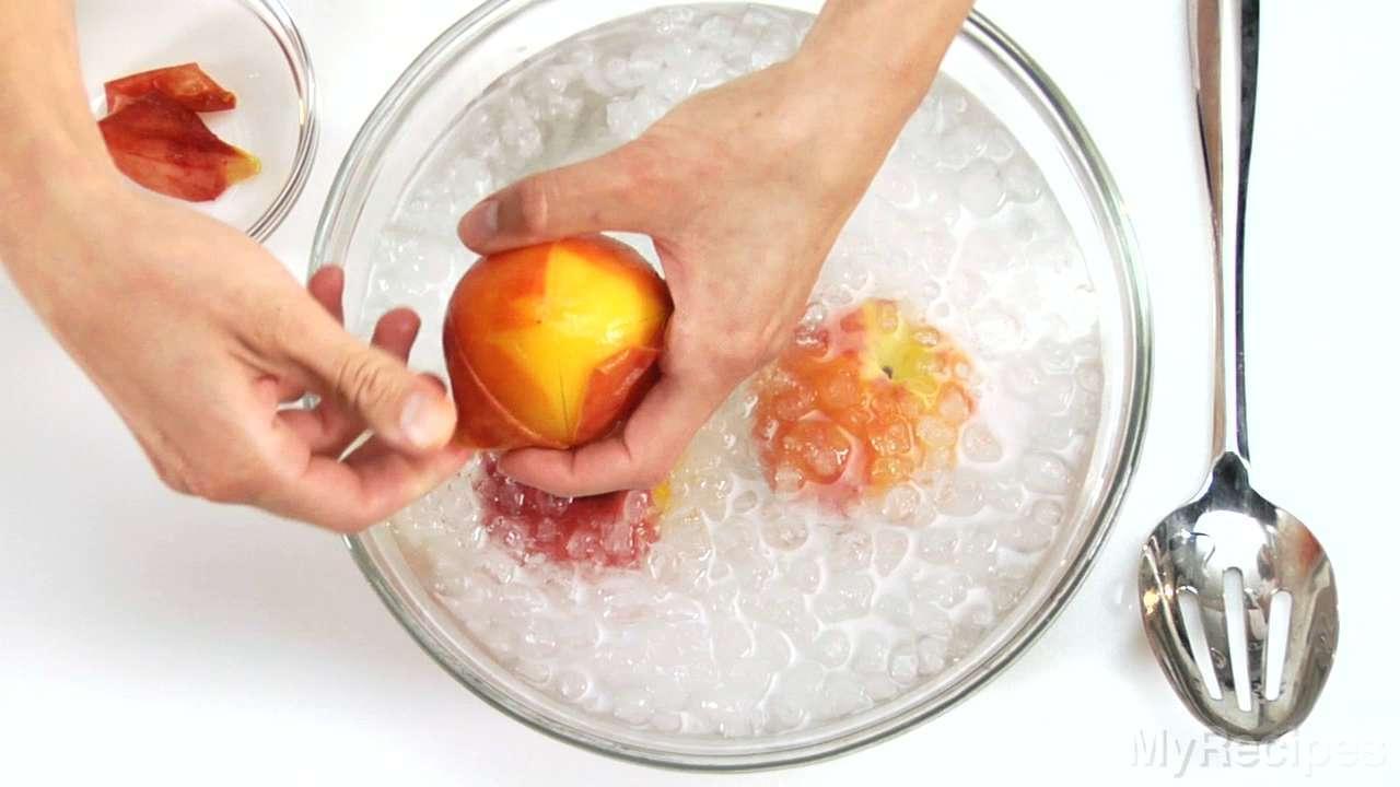 How to Skin a Peach