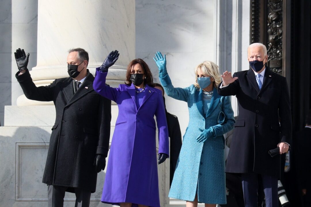 All the Political Fashion Symbols at the Inauguration, from Jill Biden's Coat to Kamala's Pearls