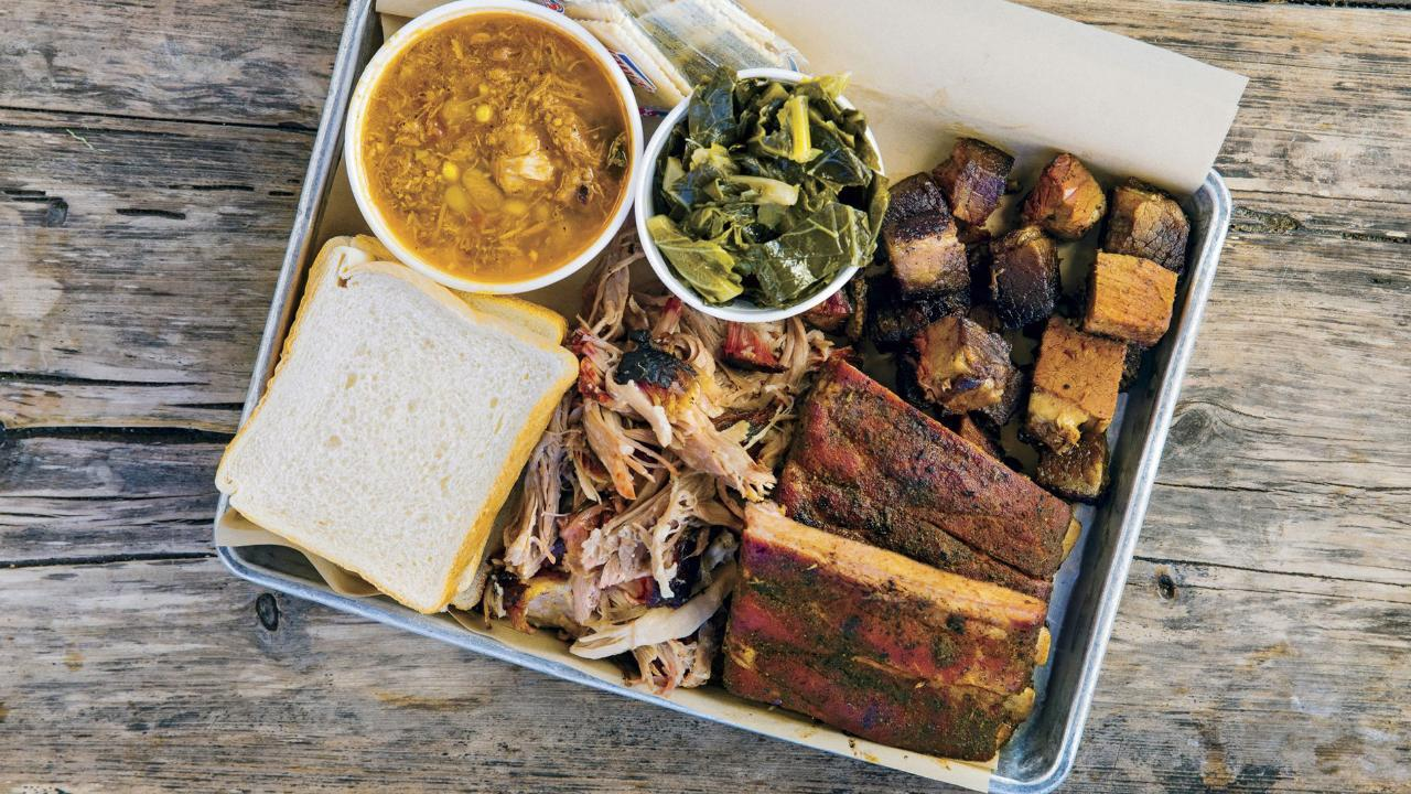 Check Out The South's Best BBQ Joints