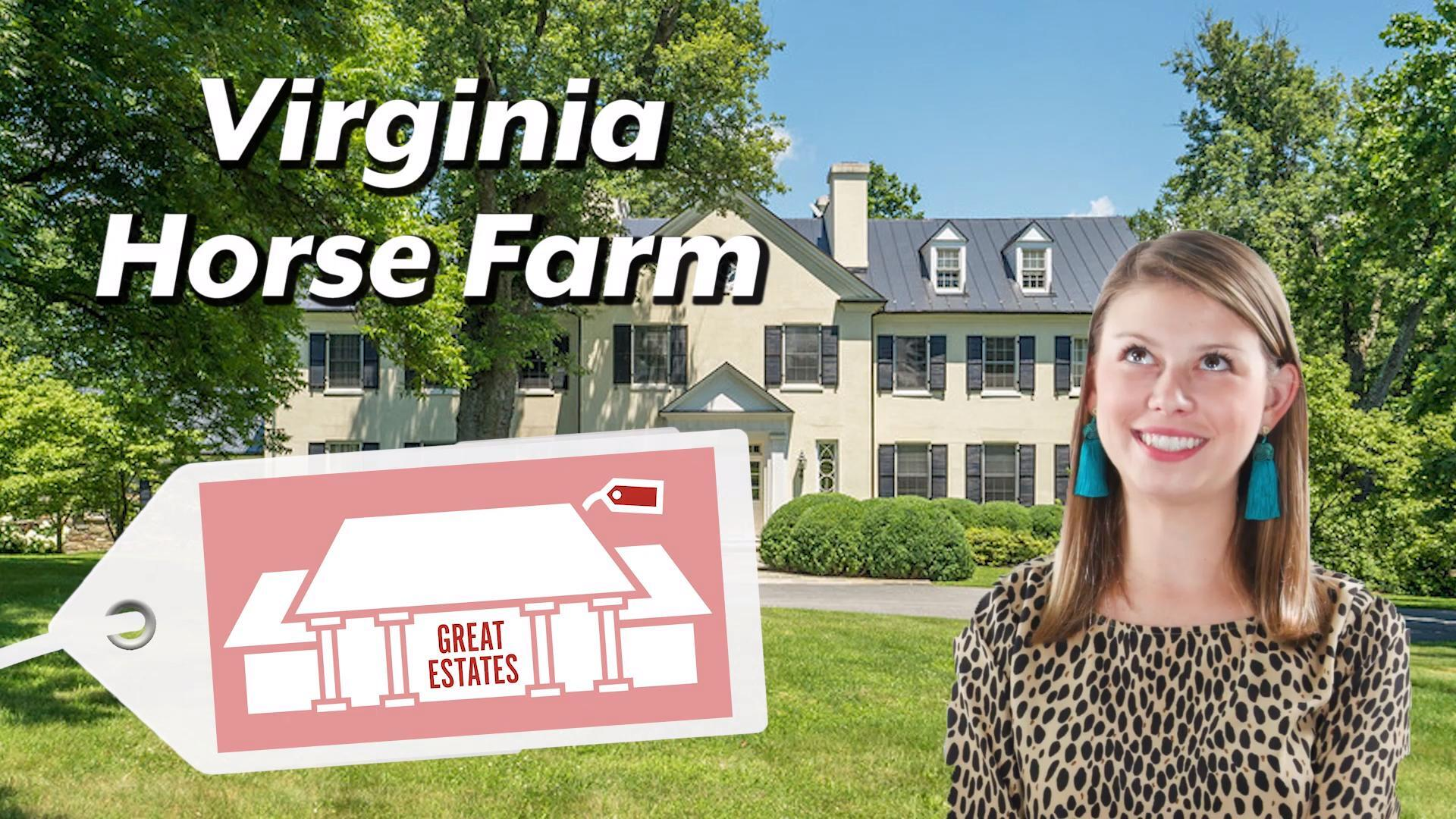Calling all Horse Lovers: This 353-Acre Virginia Estate is a Bona Fide Equestrian Paradise