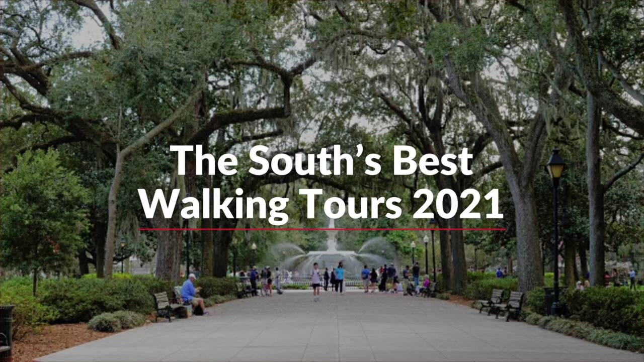 The South's Best Walking Tours