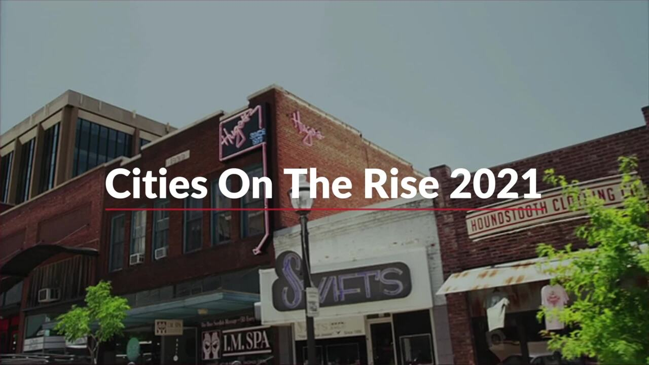 The South's Best Cities On the Rise
