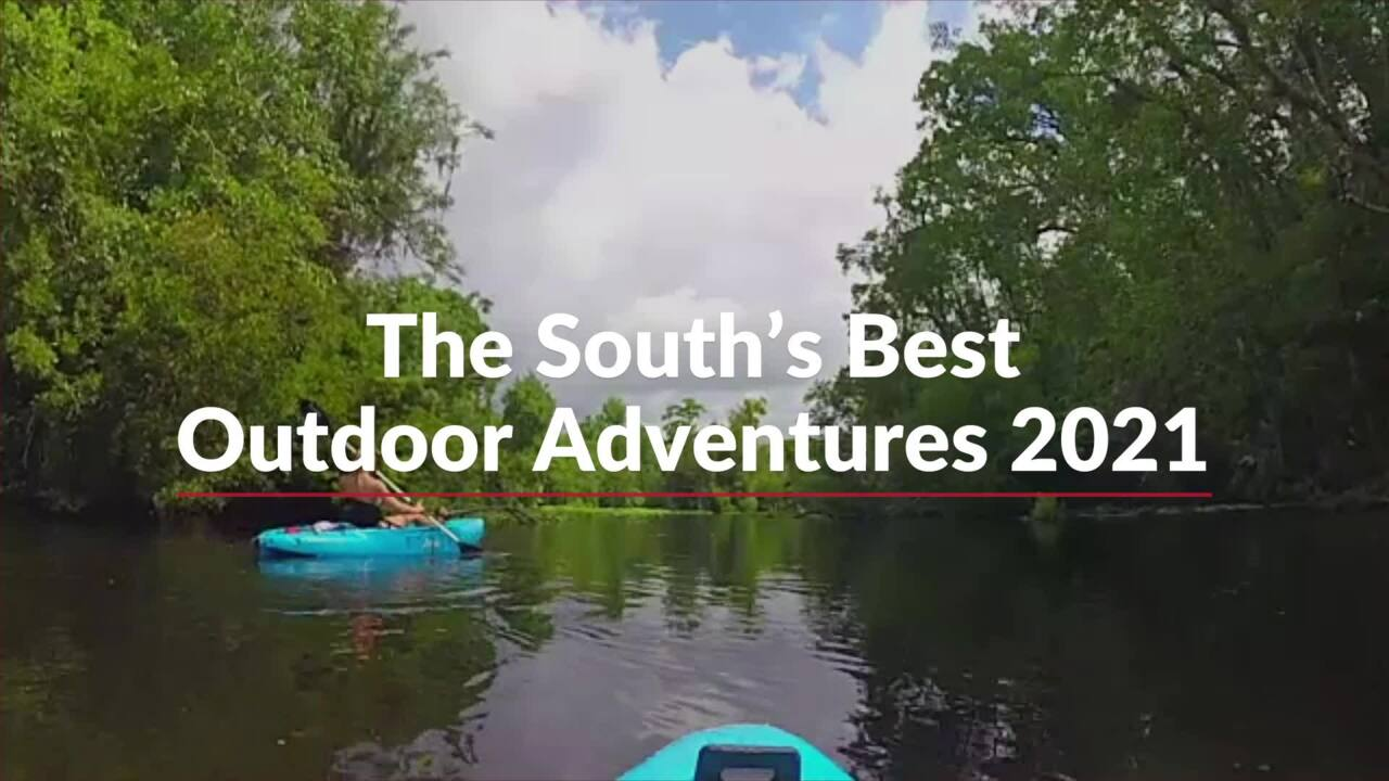 The South's Best Outdoor Adventures