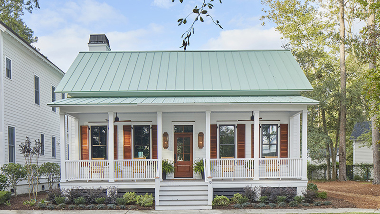 The One-Story House Plan With All The Charm