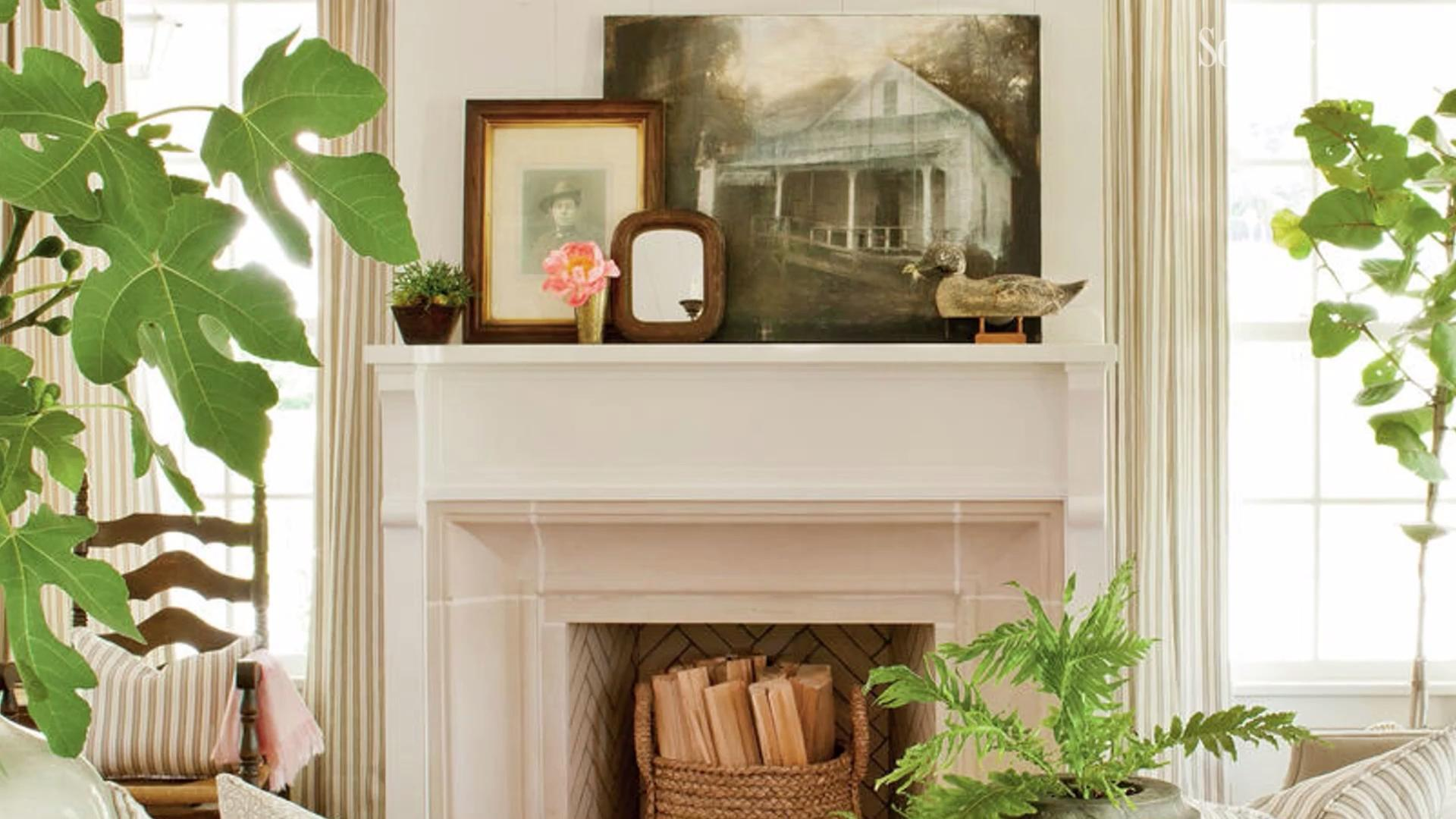 Does Your Fireplace Mantel Need an Update? Get Inspired: