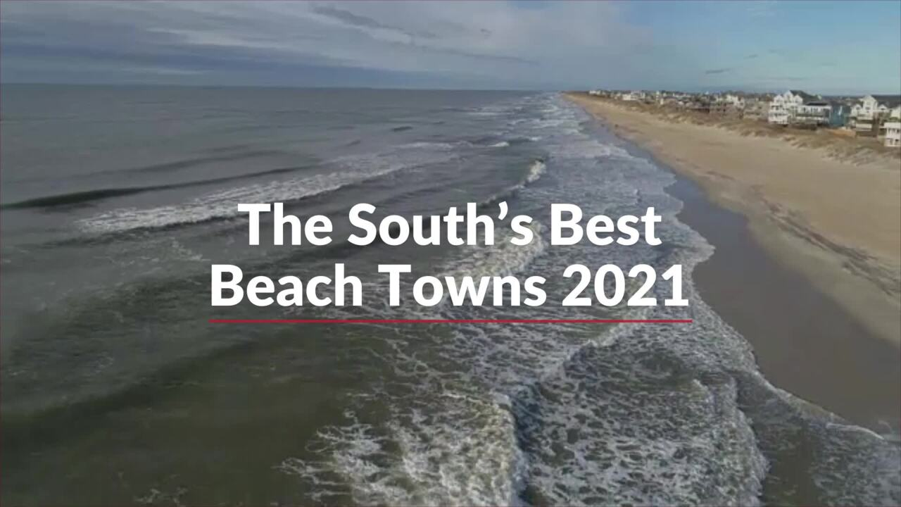 The South's Best Beach Towns