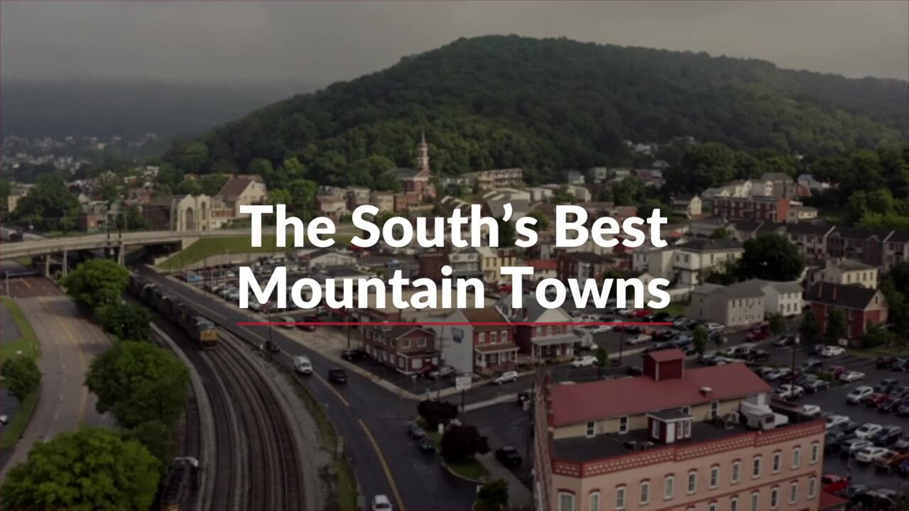 The South's Best Mountain Towns