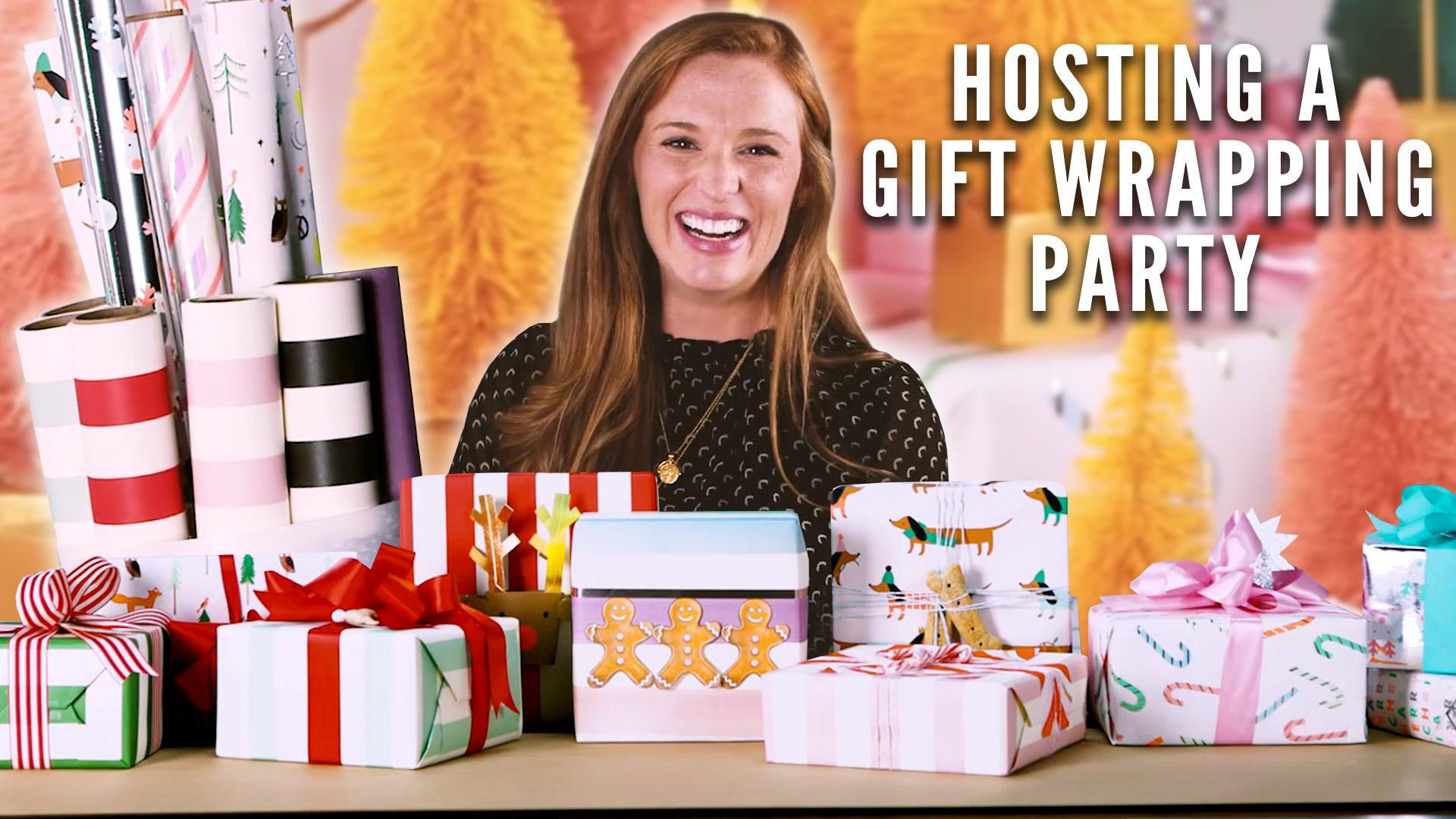 How to Host a Festive Gift Wrapping Party