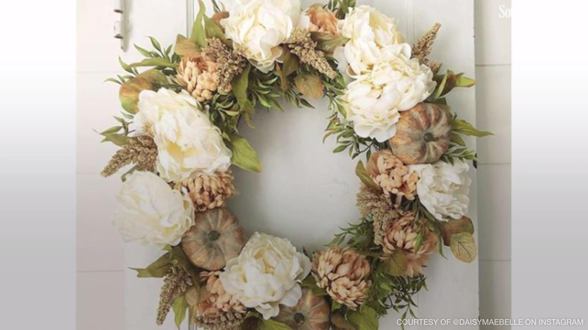 Hang up One of These Gorgeous Wreaths to Celebrate Fall