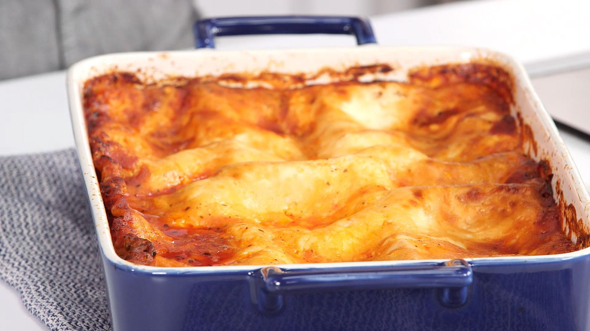 How To Make Our Easiest Lasagna