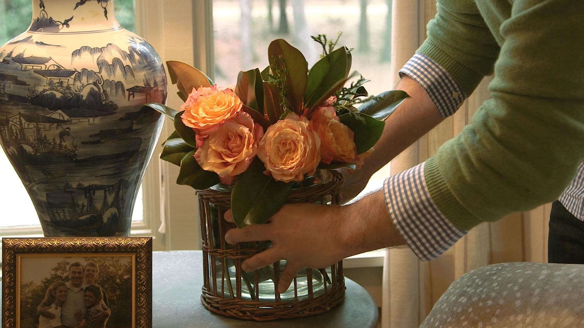 Arranging Flowers with James Farmer