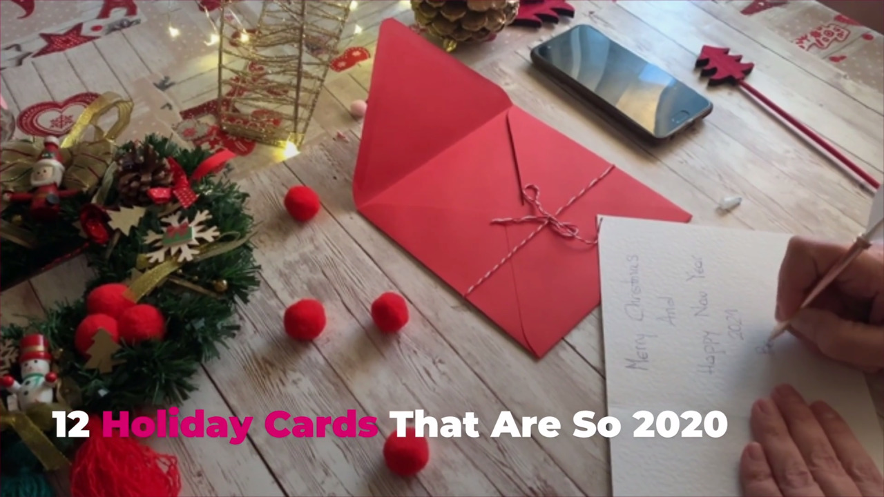 12 Holiday Cards That Are So 2020