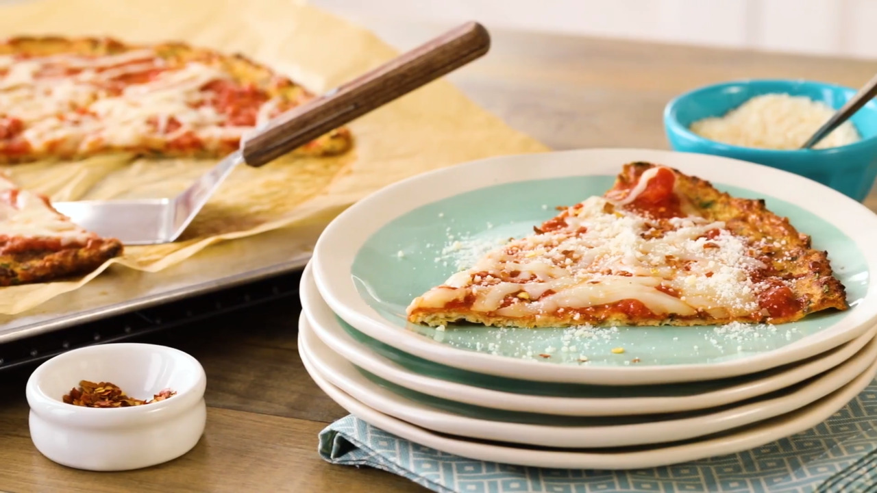 EatingWell Cauliflower Pizza Crust