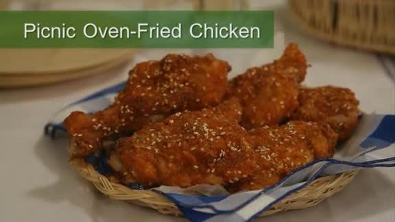 Picnic Oven-Fried Chicken