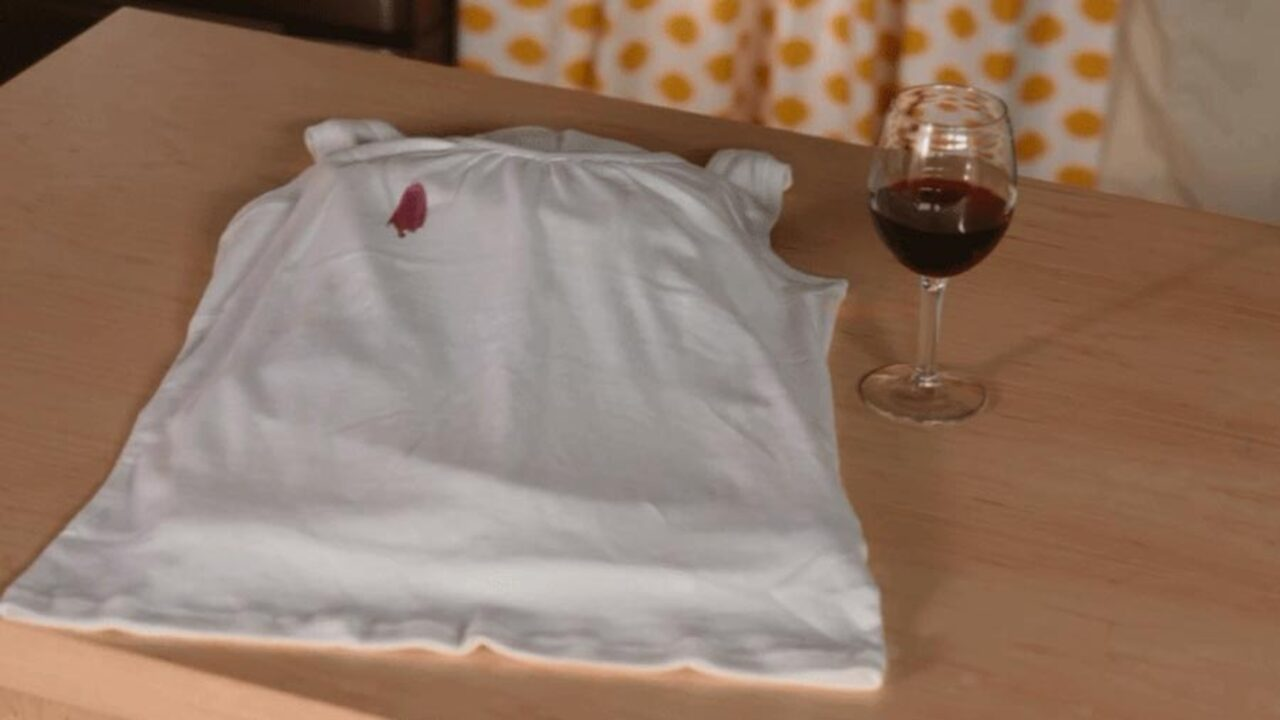 Remove Red Wine Stains with This Cleaning Trick