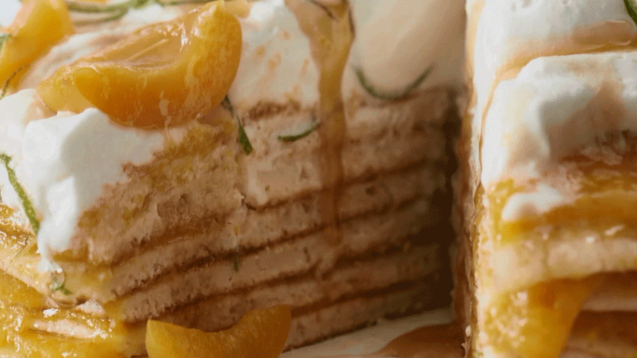 How to Make Apricot Stack Cake