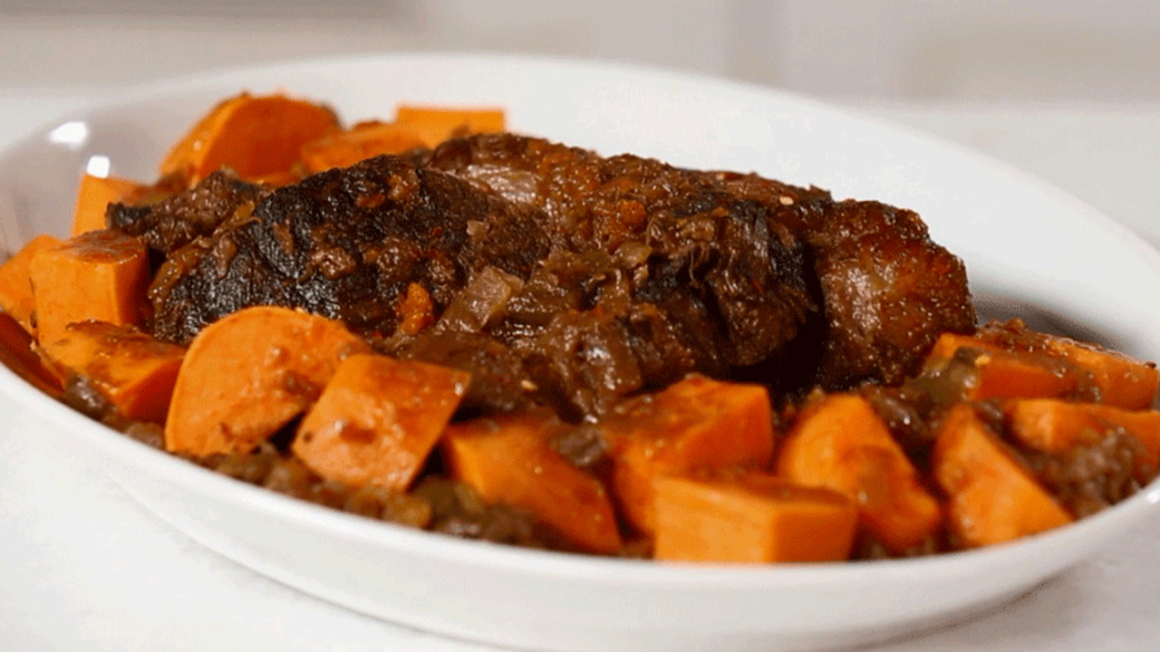 See How to Make Coffee-Braised Pot Roast