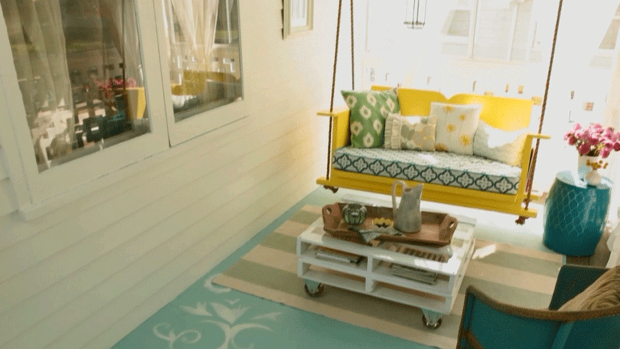 Small Porch Space-Savers