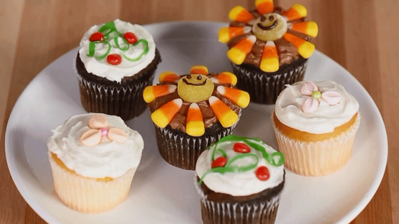 The Cutest Cupcakes for Children's Parties