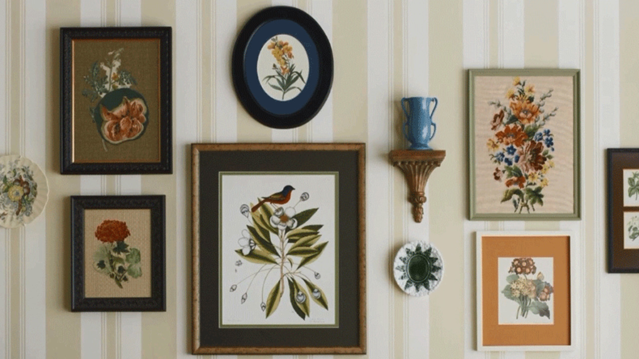 Watch: More Ideas for Decorating a Wall