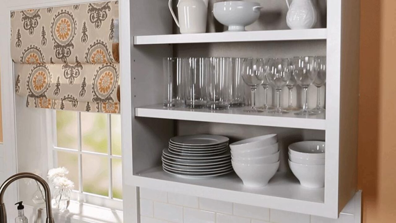 How to Convert Your Cabinets to Open Shelving