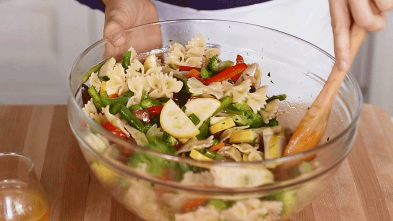 Make Perfect Pasta Salad