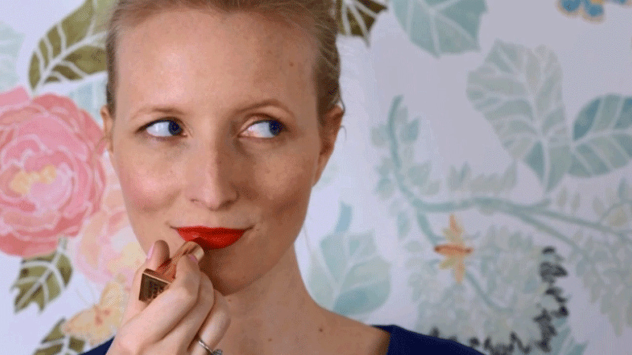 Party Makeup: The Lipstick Trick