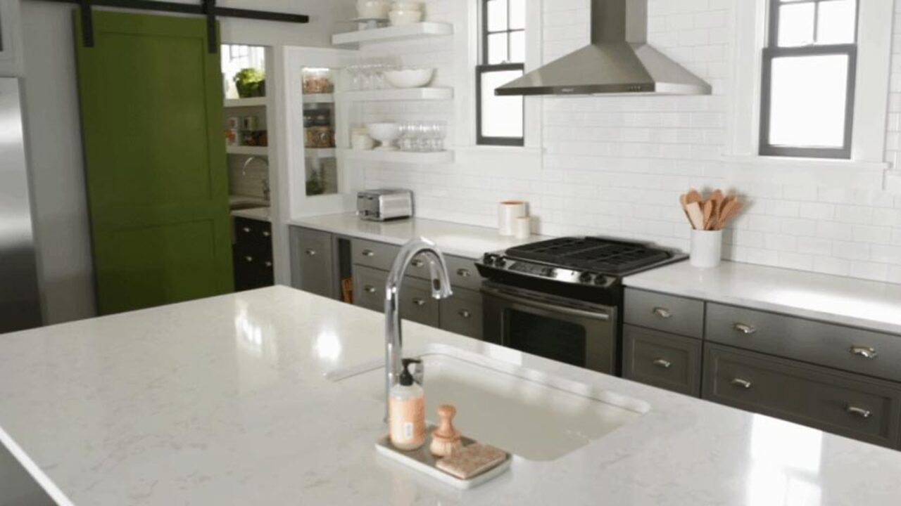 Divide Your Kitchen into Work Zones