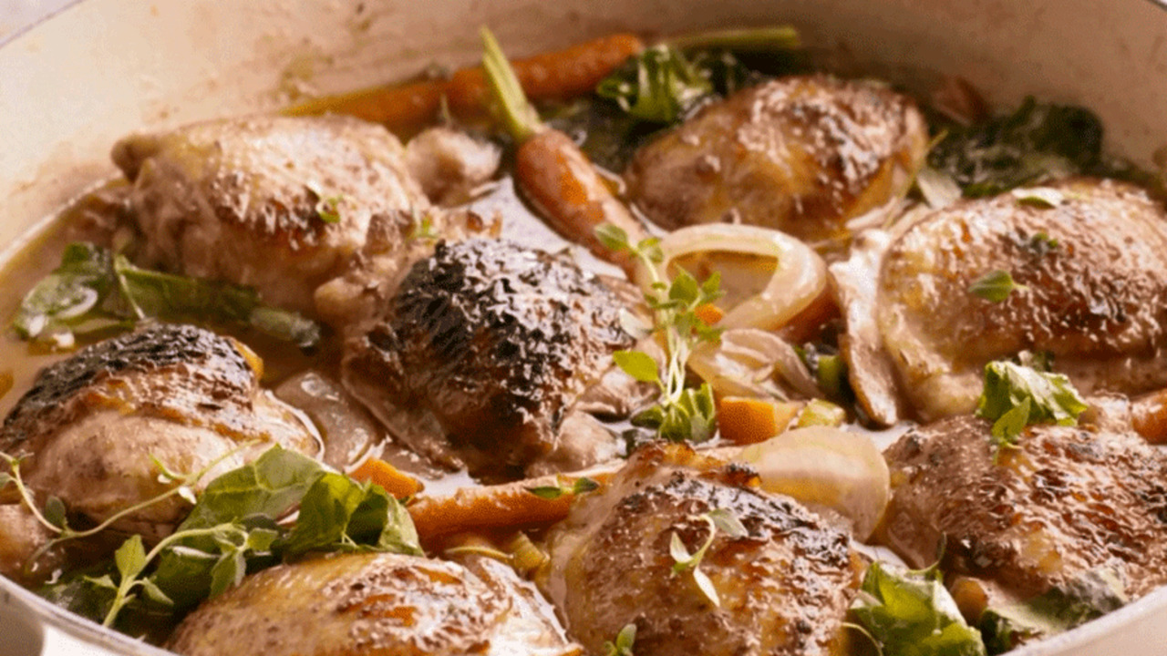 How to Cook Ale-Braised Chicken