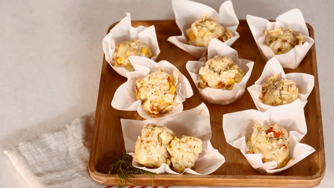 The Ultimate Breakfast Bite: Savory Brunch Muffins