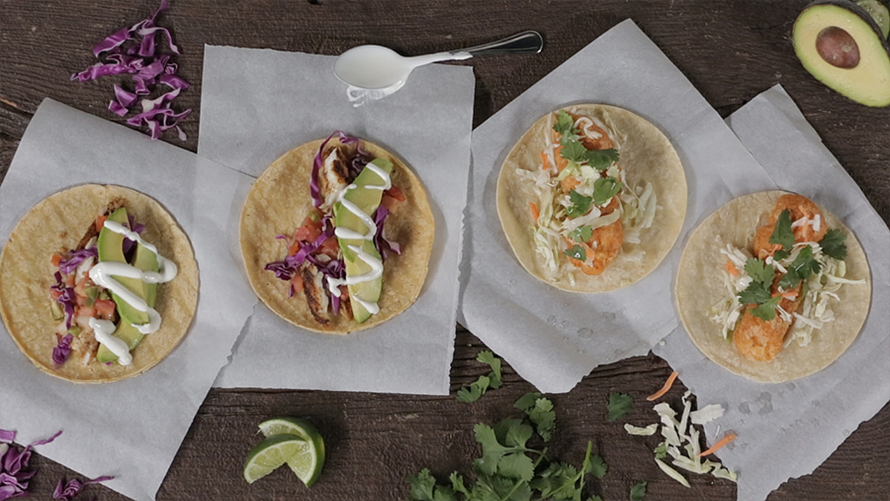 Fish Tacos, Two Ways